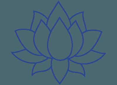 Lotus-blau